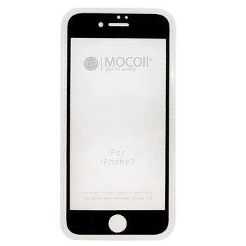 محافظ صفحه نمایش موکول مدل 2nd Generation Full Cover Tempered Glass مناسب برای گوشی موبایل آیفون 7/ 8