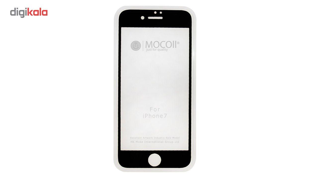 محافظ صفحه نمایش موکول مدل 2nd Generation Full Cover Tempered Glass مناسب برای گوشی موبایل آیفون 7/ 8 main 1 1