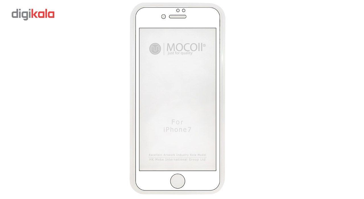 محافظ صفحه نمایش موکول مدل 2nd Generation Full Cover Tempered Glass مناسب برای گوشی موبایل آیفون 7/ 8 main 1 2