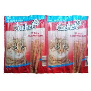 استیک گربه Classic Cachet مدل Mit Lachs and Forelle