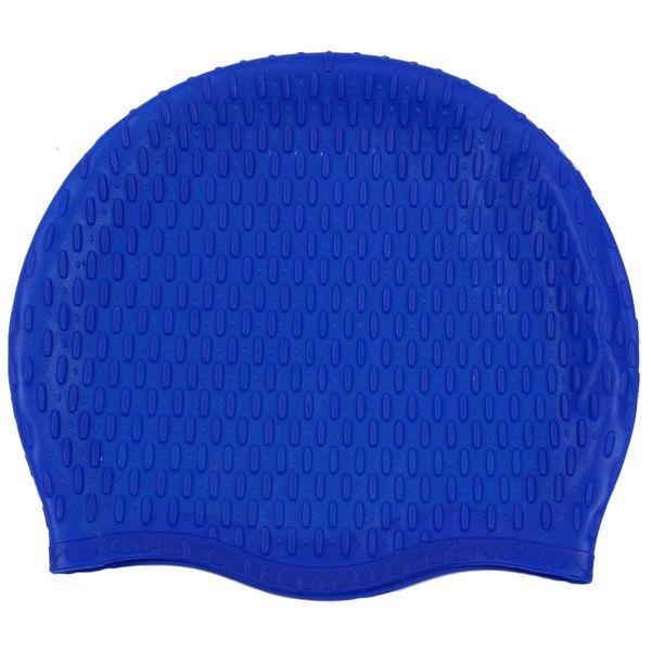 کلاه شنای زنانه مدل آج دار کد 11