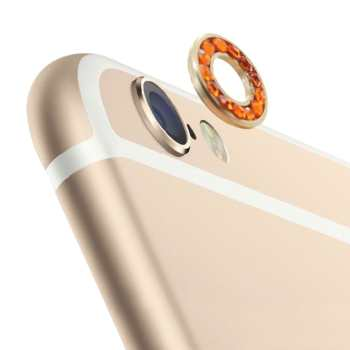 محافظ لنز دوربین جواهرنشان مدل Diamond مناسب برای iPhone 6 Plus