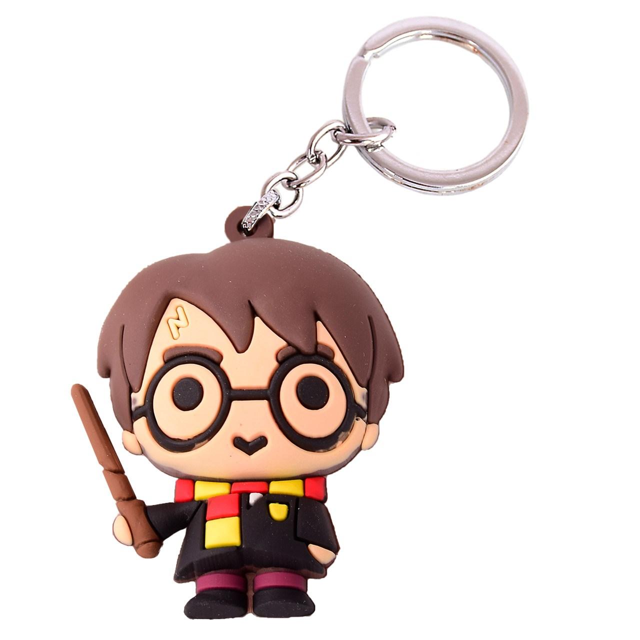 جاسوییچی طرح هری پاتر مدل Harry Potter with Wand