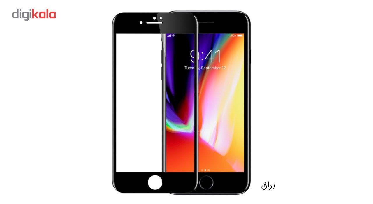 محافظ صفحه نمایش شیشه ای کوالا مدل Full Cover مناسب برای گوشی موبایل اپل آیفون 8 به همراه محافظ پشت Full Cover و محافظ لنز دوربین main 1 2