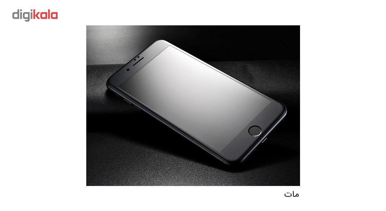 محافظ صفحه نمایش شیشه ای کوالا مدل Full Cover مناسب برای گوشی موبایل اپل آیفون 8 به همراه محافظ پشت Full Cover و محافظ لنز دوربین main 1 3