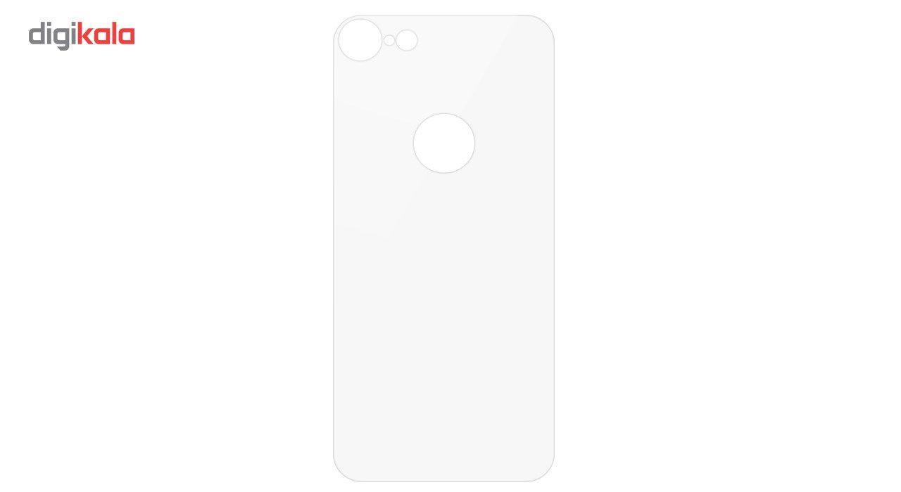 محافظ صفحه نمایش شیشه ای کوالا مدل Full Cover مناسب برای گوشی موبایل اپل آیفون 8 به همراه محافظ پشت Full Cover و محافظ لنز دوربین main 1 6
