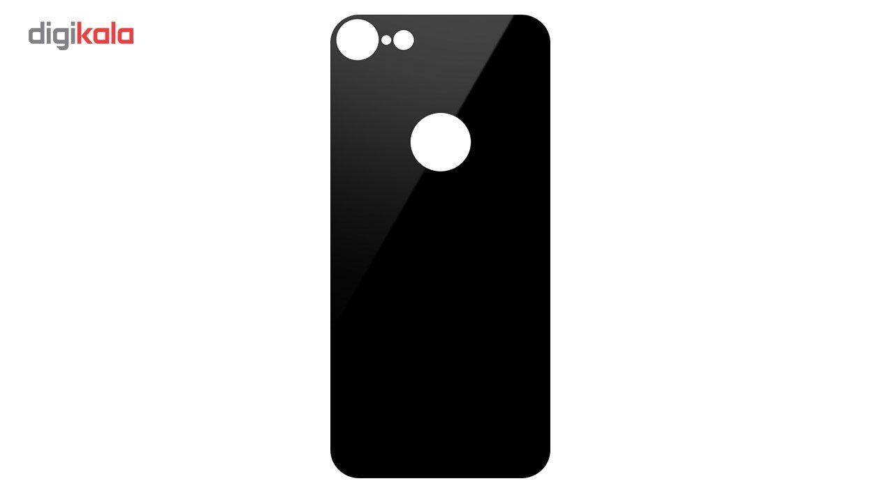 محافظ صفحه نمایش شیشه ای کوالا مدل Full Cover مناسب برای گوشی موبایل اپل آیفون 8 به همراه محافظ پشت Full Cover و محافظ لنز دوربین main 1 7