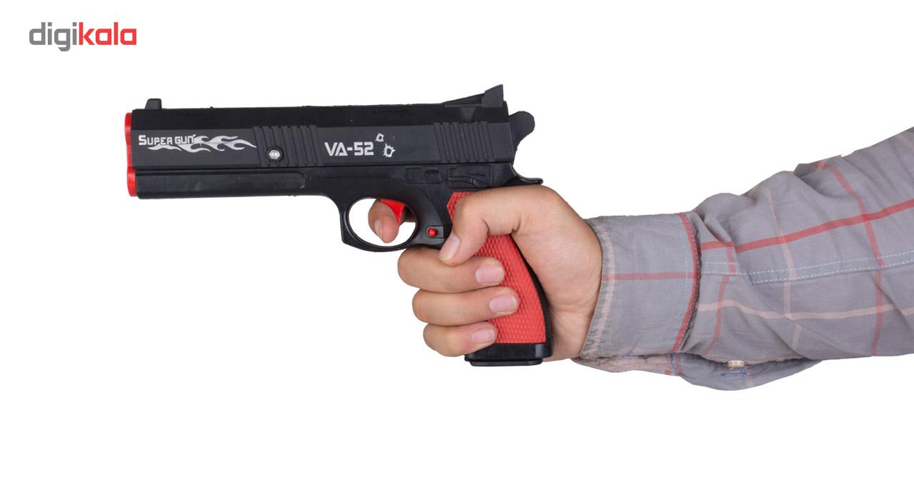 تفنگ اسباب بازی مدل کلت main 1 6
