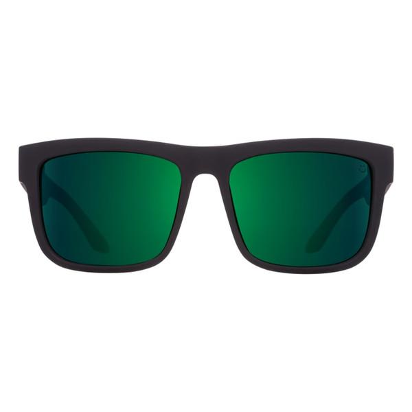 عینک آفتابی اسپای سری Discord مدلSoft Matte Black Green Fade Happy Gray Green Green Flash