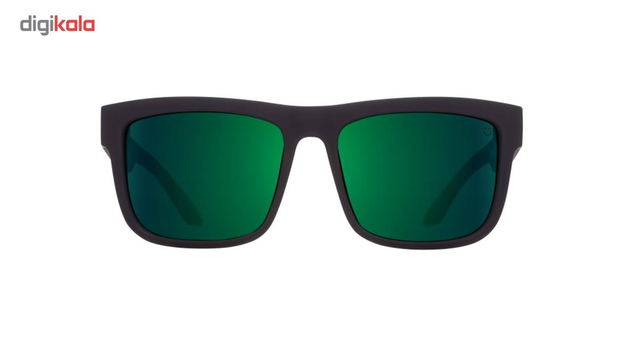 عینک آفتابی اسپای سری Discord مدلSoft Matte Black Green Fade Happy Gray Green Green Flash -  - 3