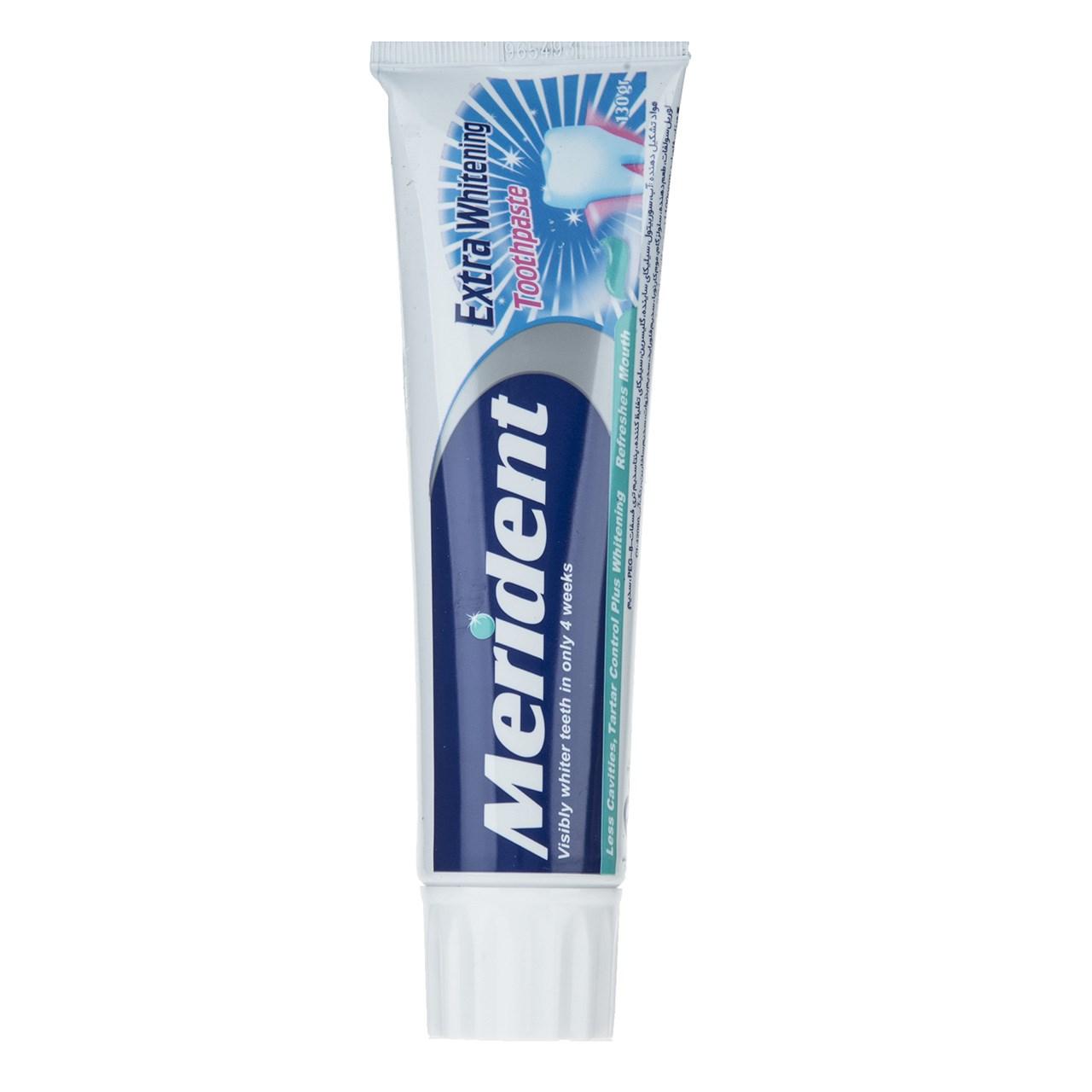 خمیر دندان سفید کننده مریدنت مدل Whitening مقدار 130 گرم