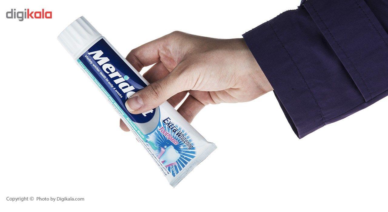 خمیر دندان سفید کننده مریدنت مدل Extra Whitwning مقدار 130 گرم main 1 8