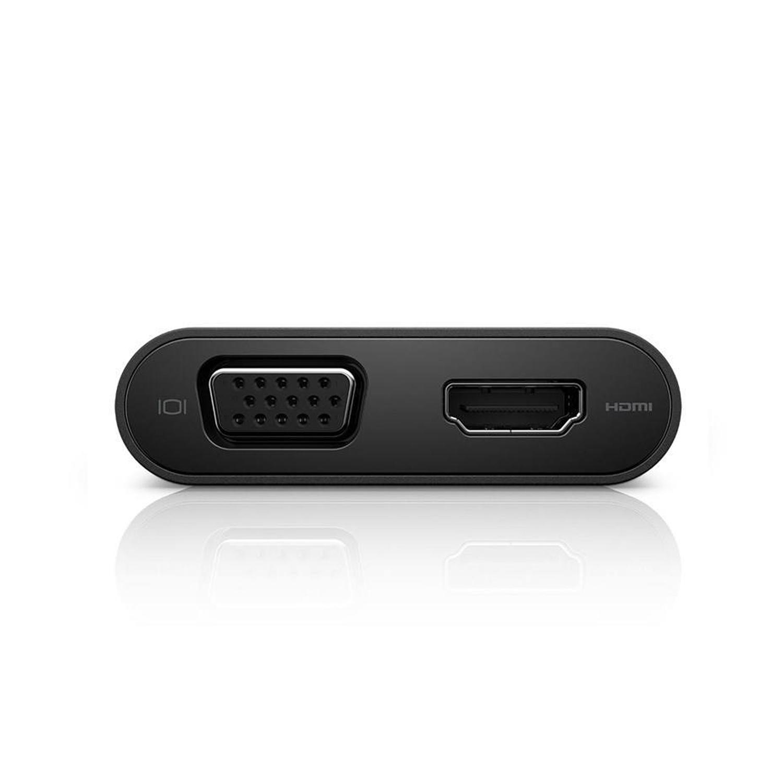 مبدل USB-C به HDMI /USB/LAN  دل مدلDA200-M