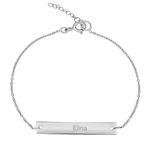 دستبند نقره زنانه ترمه ۱ مدل الینا کد DN 3038