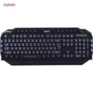 کیبورد تسکو مدل TK 8120N با حروف فارسی  TSCO TK 8120N Keyboard With Persian Letters