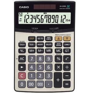 ماشین حساب کاسیو مدل DJ-220-D