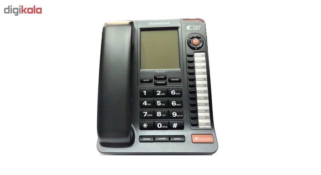 تلفن تکنیکال مدل TEC-6112 main 1 1