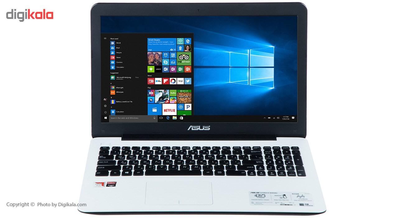 لپ تاپ 15 اینچی ایسوس مدل R556BP - B