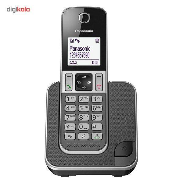 تلفن بیسیم پاناسونیک مدل KX-TGD310 main 1 2