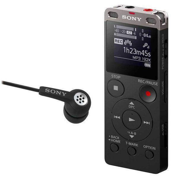 ضبط کننده صدا سونی مدل ICD-UX560F به همراه ایرفون سونی مدل ECM-TL02