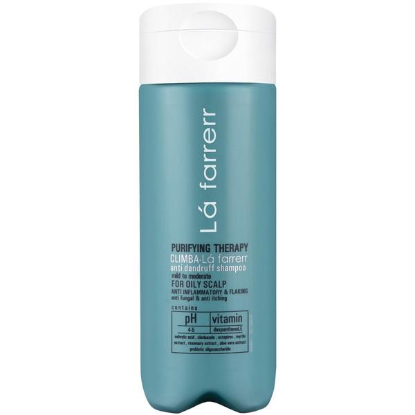 شامپو ضد شوره لافارر مخصوص موهای چرب و کدر مدلCLIMBA حجم 180میلی لیتر