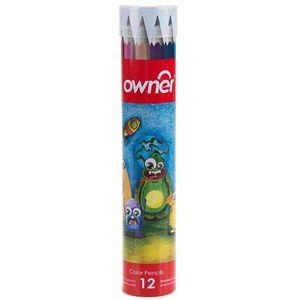 مداد رنگی 12 رنگ اونر کد 4393