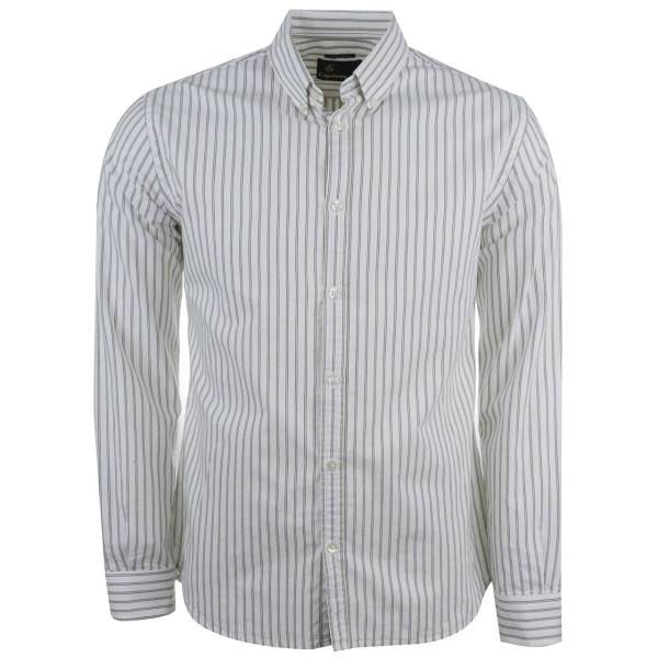 پیراهن نخی آستین بلند مردانه کاپریکورن مدل 57