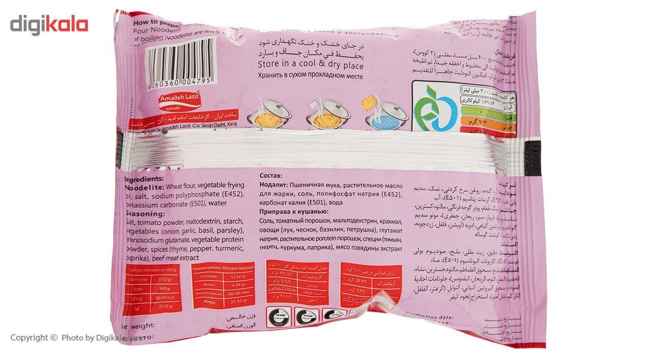نودالیت با طعم گوشت آماده لذیذ مقدار 75 گرم main 1 3