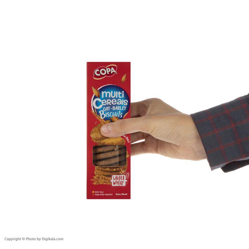 بیسکویت سبوس دار چند غله کوپا  - 150 گرم