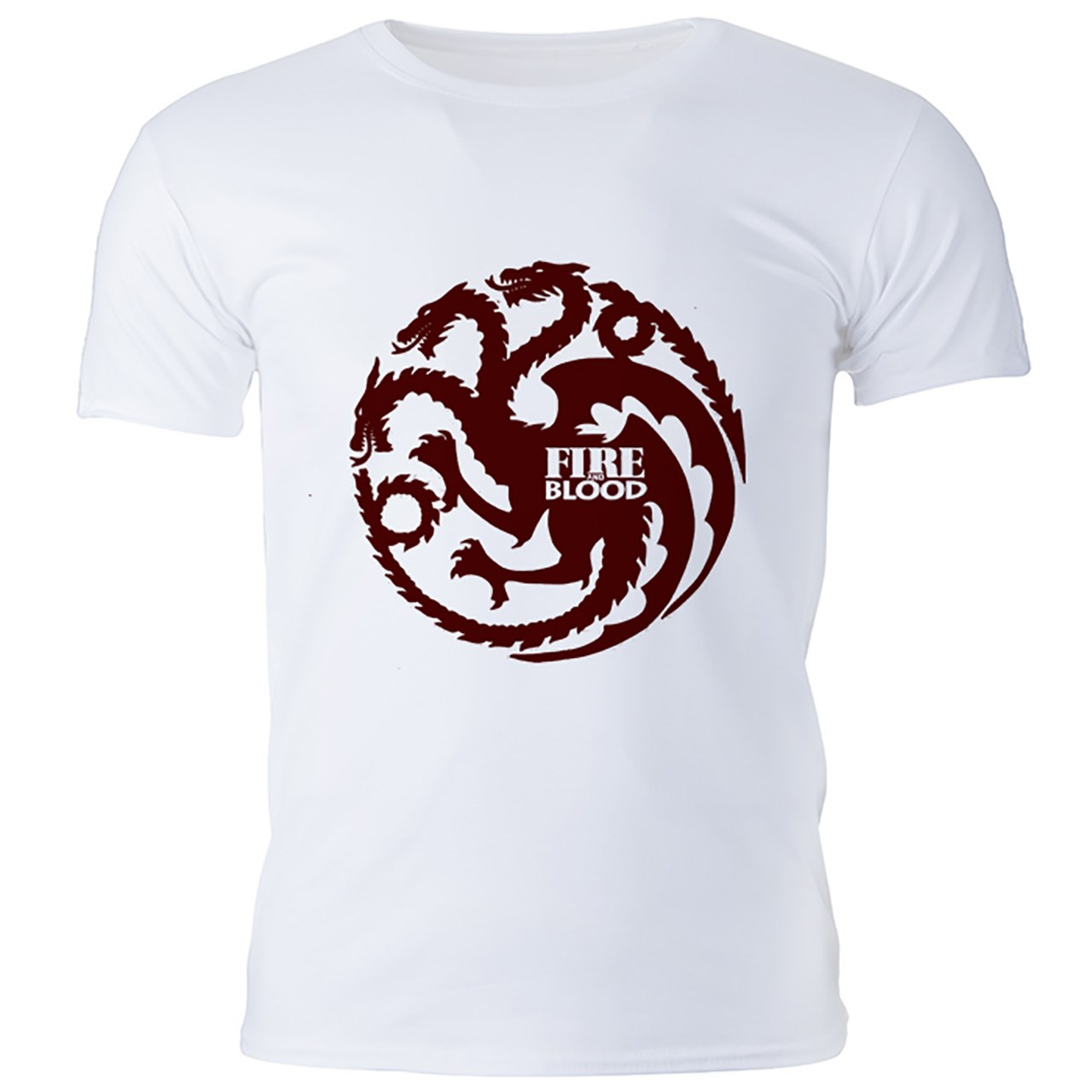 تی شرت مردانه گالری واو طرح Game of thrones Targaryen House کد CT10107
