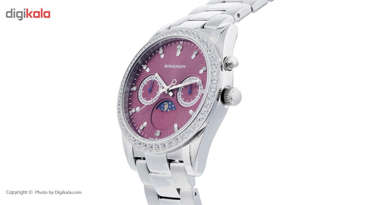 ساعت مچی عقربه ای زنانه رومانسون مدل RM4210QL1WAF2W