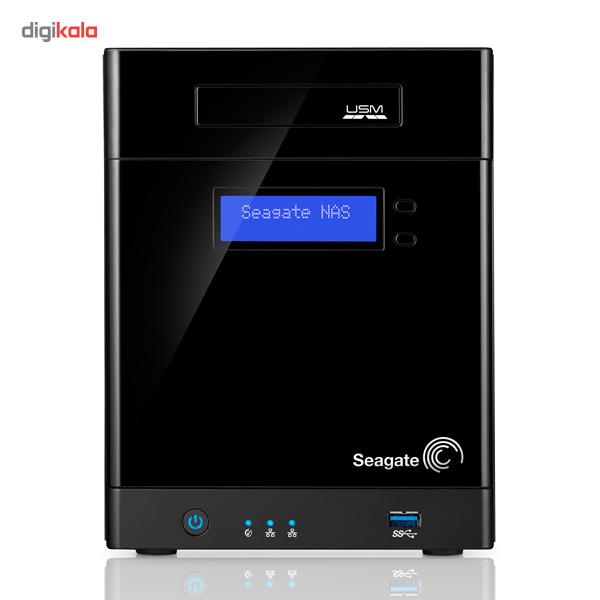ذخیره ساز تحت شبکه 4Bay سیگیت مدل بیزینس استوریج STBP12000200 ظرفیت 12 ترابایت