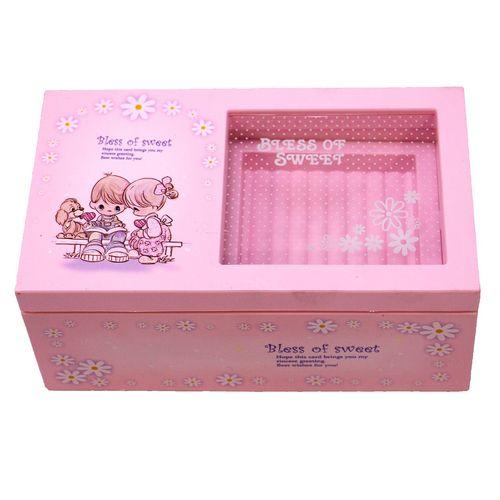 جعبه موزیکال ایرسا مدل pink-2