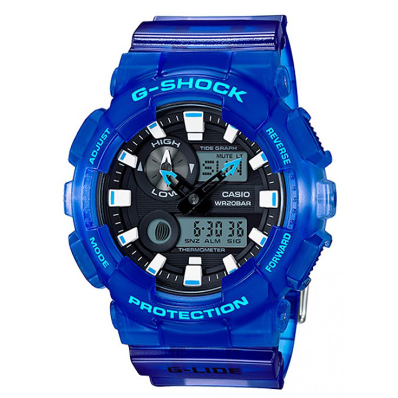 ساعت مچی دیجیتالی مردانه کاسیو جی شاک GAX-100MSA-2ADR