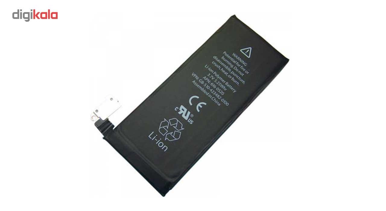 باتری موبایل مدل0512-616 APN با ظرفیت 1420mAh مناسب برای گوشی موبایل آیفون 4 main 1 1
