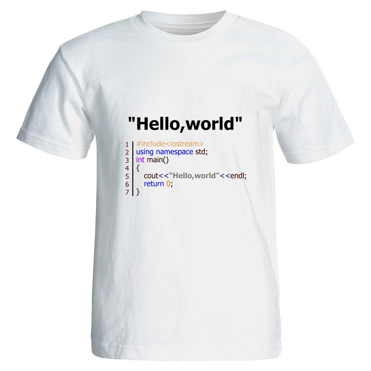 تی شرت نگار ایرانی طرح برنامه نویس Z15