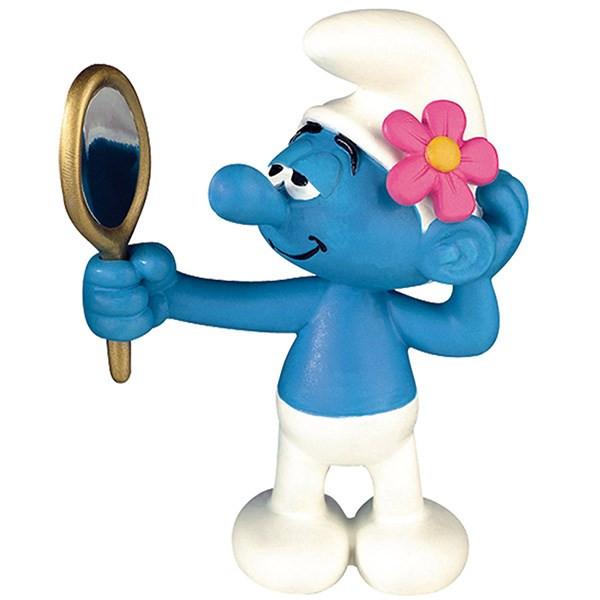 عروسک اسمورف مغرور پلستوی کد 00160 سایز 1