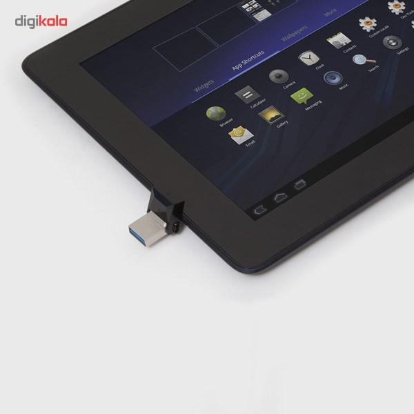 فلش مموری OTG کینگستون مدل DTDUO3 ظرفیت 16 گیگابایت