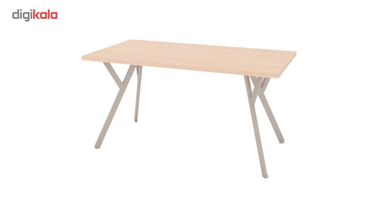 میز اداری مدرن سازینه چوب سری داریو مدل  S-M400