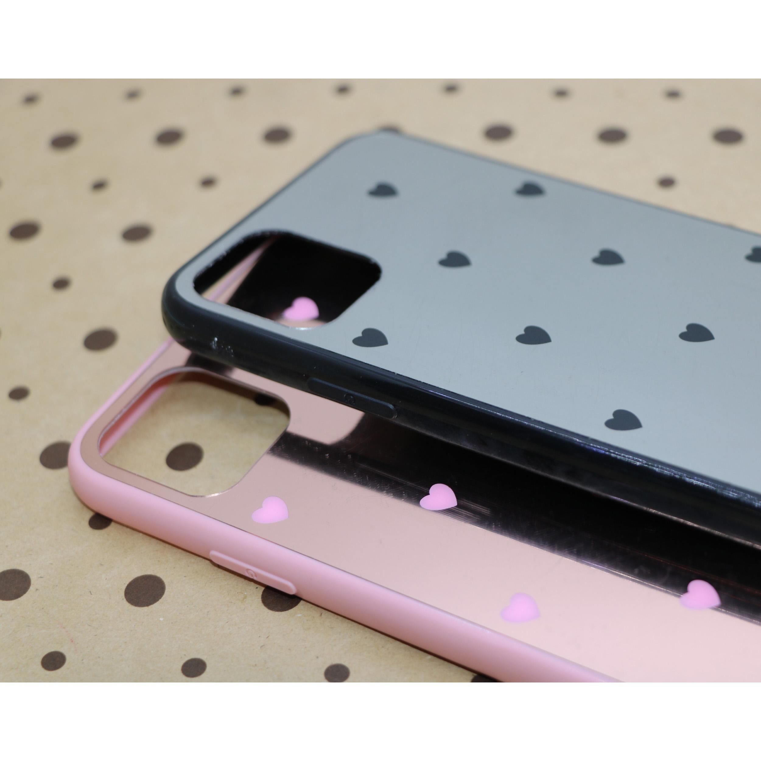 کاور طرح Heart مدل BH-01 مناسب برای گوشی موبایل اپل Iphone 11 به همراه نگهدارنده thumb 2
