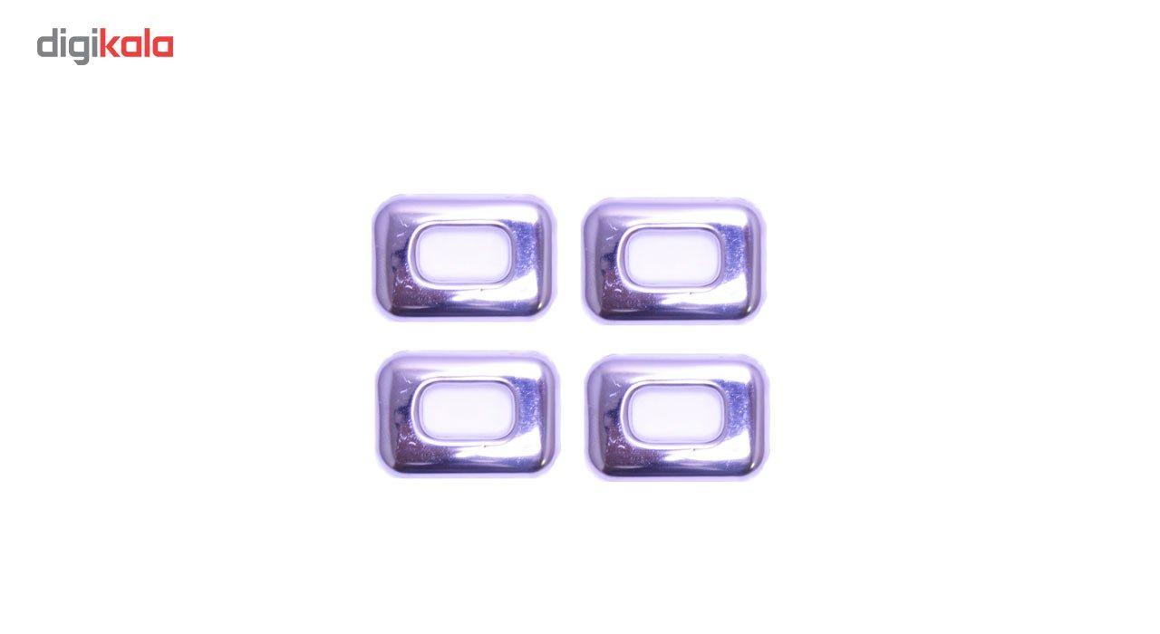 استیل شاسی قفل کن نیکو پخش مناسب برای خودرو تندر 90 بسته 4 عددی main 1 1