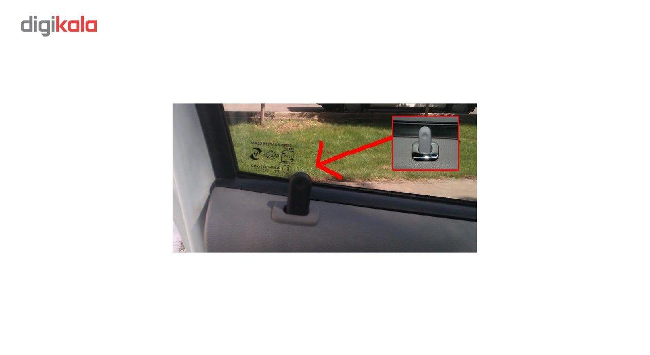 استیل شاسی قفل کن نیکو پخش مناسب برای خودرو تندر 90 بسته 4 عددی main 1 2