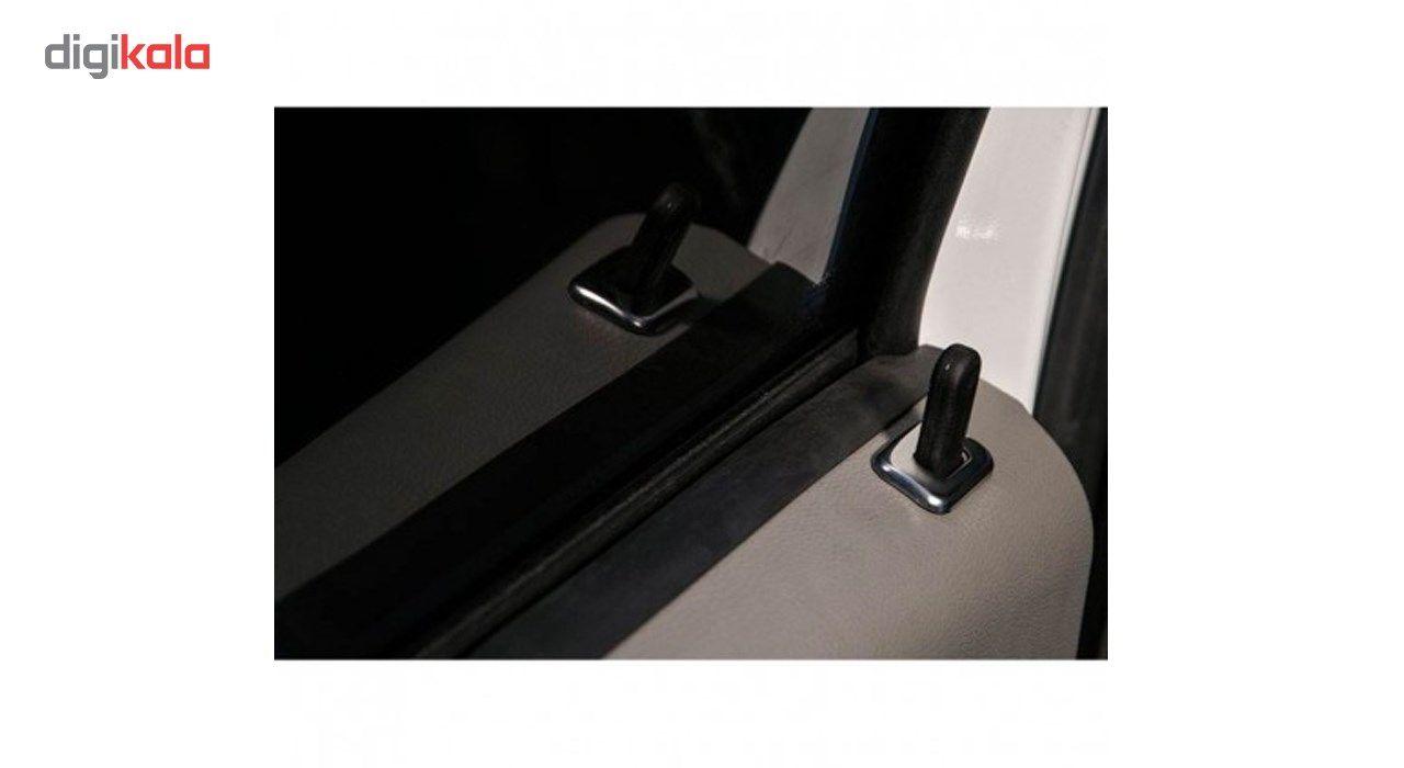 استیل شاسی قفل کن نیکو پخش مناسب برای خودرو تندر 90 بسته 4 عددی main 1 3