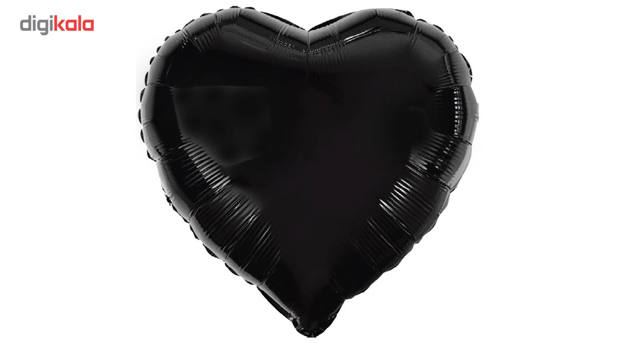 بادکنک بانیبو مدل Black Love سایز 150