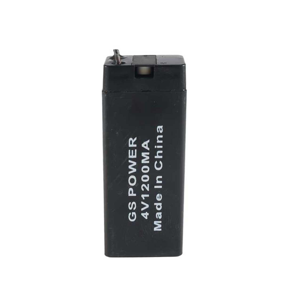 باتری یو پی اس 4 ولت 1.2 آمپر ساعت جی اس پاور مدل GS4V1200