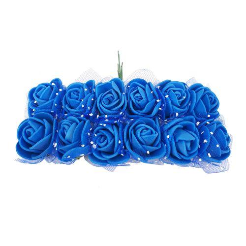 گل فومی تور دار بسته 12 عددی