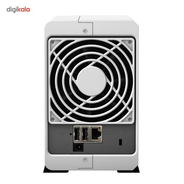 ذخیره ساز تحت شبکه 2Bay سینولوژی مدل دیسک استیشن DS213j