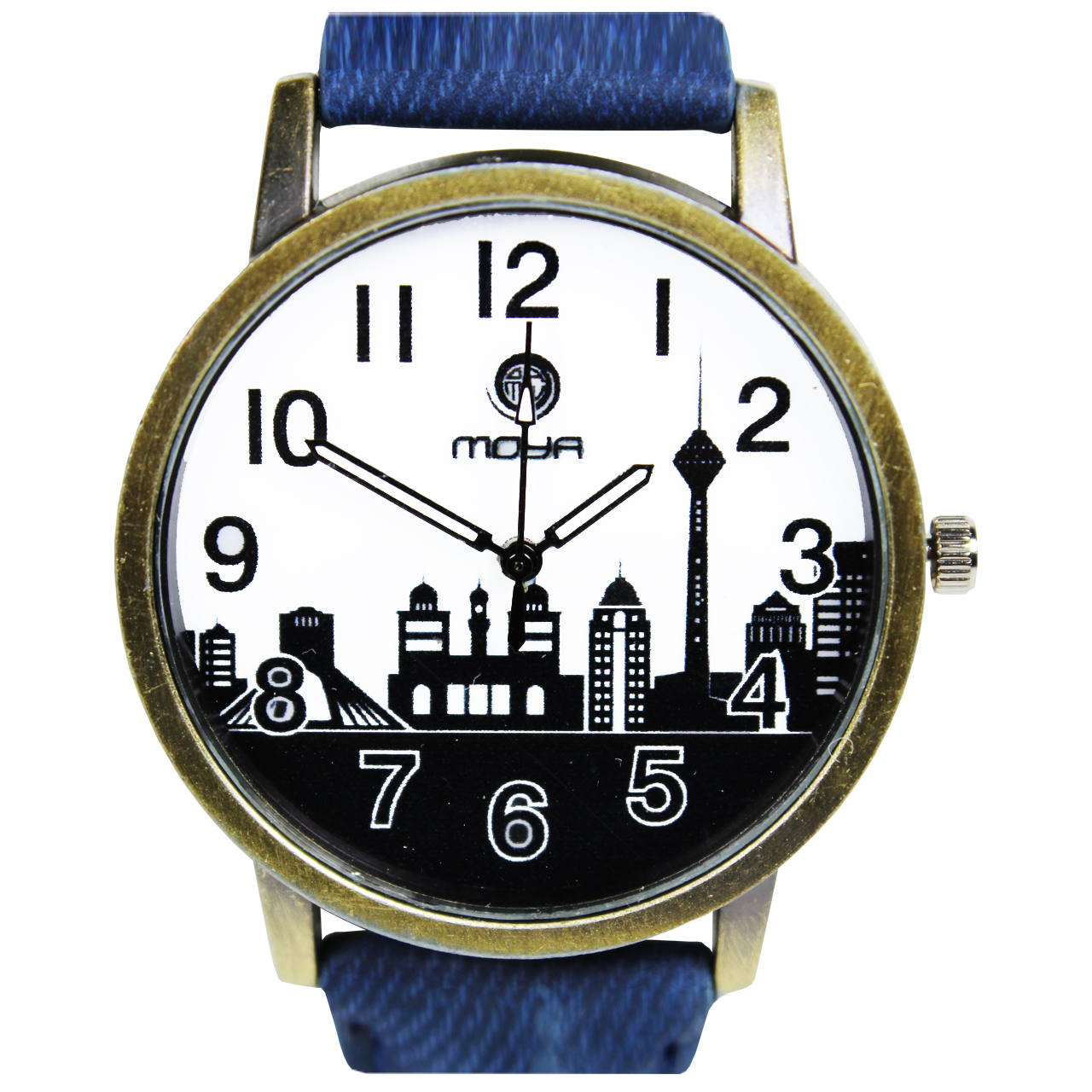 ساعت مردانه برند و زنانه طرح شهر کد 02