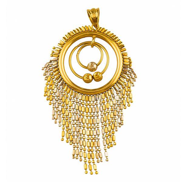 آویز گردنبند طلا 18 عیار گالری طلاچی مدل 5 |