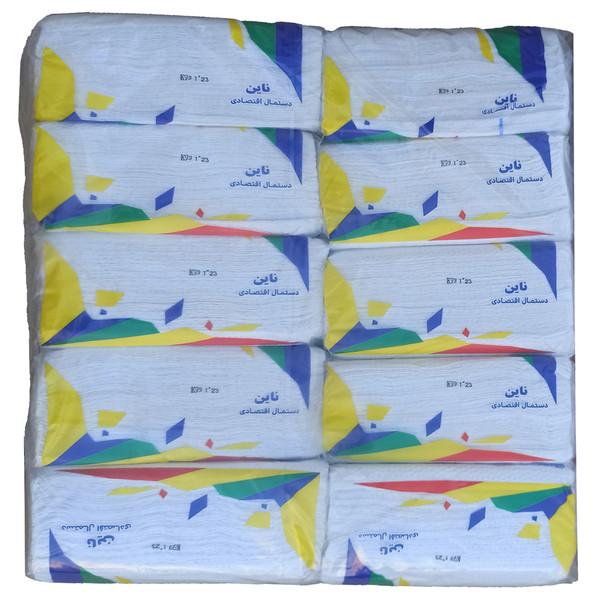 دستمال کاغذی ناین 200 برگ کد 1081 مجموعه 10 عددی